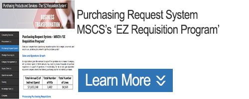 Click to Learn about Purchasing Request System