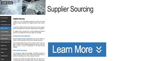 Click to Learn about Supplier Sourcing