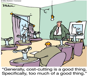 Cost Cutting Cartoon