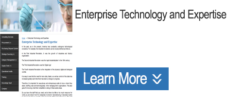 Click to Learn about Enterprise Technology and Expertise