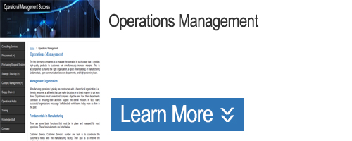 Click to Learn about Operations Management
